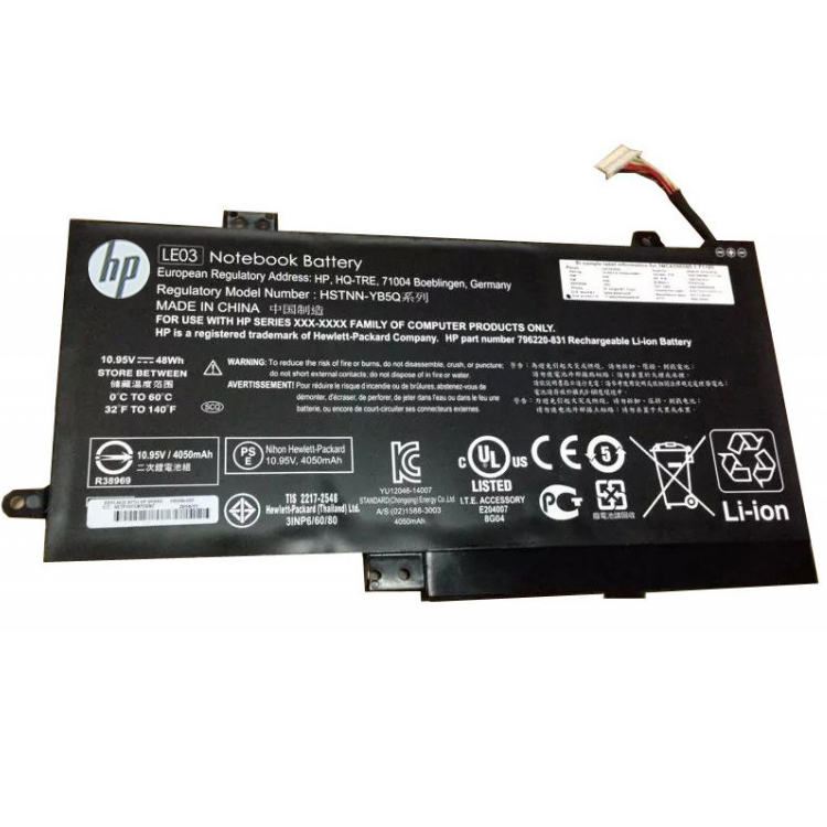 HSTNN-YB5Q Laptop Battery/Adapter