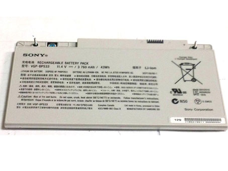 VGP-BPS33 Laptop Battery/Adapter